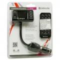 Defender FM-трансмиттер RT-PRO Пульт ДУ, USB для зарядки