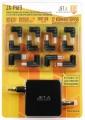 JET.A JA-PA19 Универсальный адаптер питания для ноутбуков - Аксессуар к ноутбуку JET.A JA-PA19 Универсальный адаптер питания для ноутбуков (90W, питание от сети 220В, порт USB, 12 переходников)